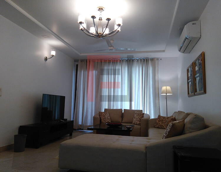 3 BHK Apartment - Defence Colony